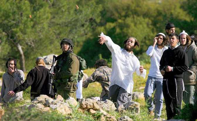 Nablus Citizens Confront Israeli Settler Colonists' Attacks