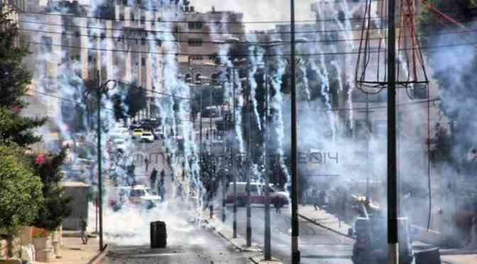 Uprising continues, clashes all over West Bank