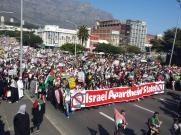 Day of Rage: Cape Town South Africa- Israel is an apartheid state