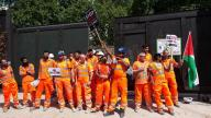Day of Rage: Cross rail workers in UK