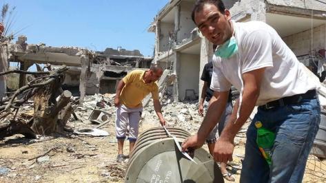 Israeli barrel bomb used over East of Rafah