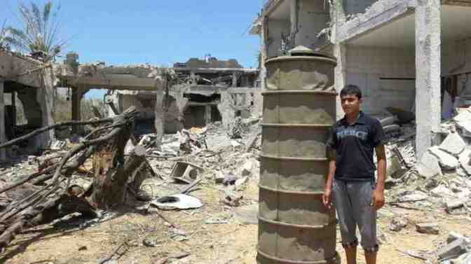 Use of barrel bombs show Israel's desperation