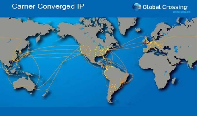 global crossing network- carrier converged IP