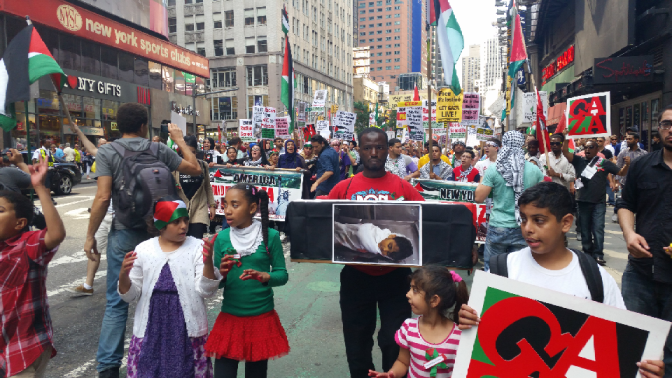 """Day of Rage"" across world shows overwhelming support for Gaza"