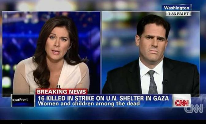 Ron Dermer Israel's propagandist on CNN