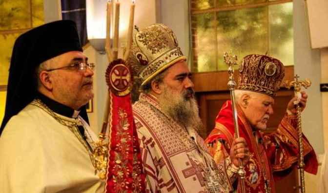 Archbishop Theodosius Atallah Hanna in Sydney
