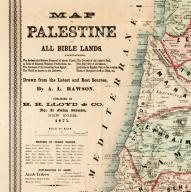 1921 Bible Lands - From New Paths Through Old Palestine