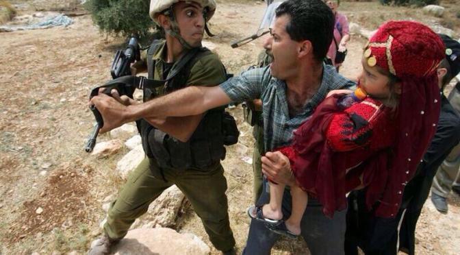 Israeli hate speech against Palestinians