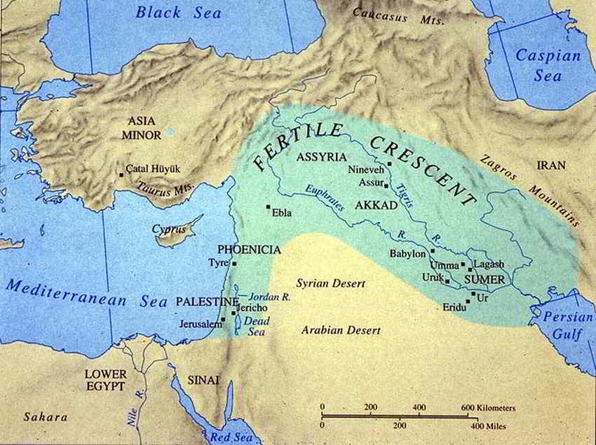 Historical maps of palestine cintayati fertile crescent gumiabroncs Gallery