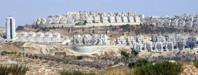 Expansion of settler colonies in Palestine
