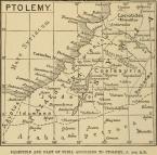 100 AD Map of Palestine