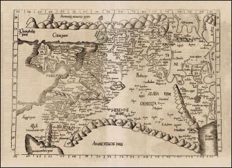 Roman map of Palestine